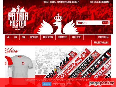 PATRIA NOSTRA - patriotyczna odzież i gadżety reklamowe