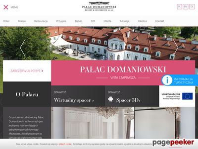 Ślub w pałacu - Pałac Domaniowski