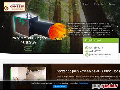 Palniknapeletkutno.pl - sprzedaż palników na pelet