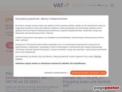 VAT wersja 15