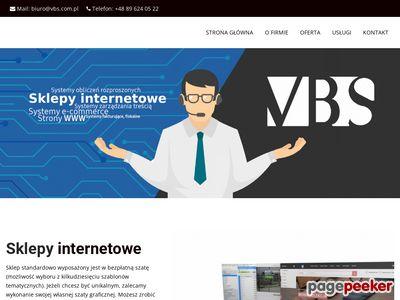 VBS Oprogramowanie dla firm, sklepy internetowe