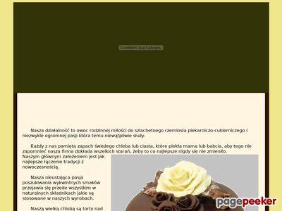 Torty weselne Gliwice - Cukiernia