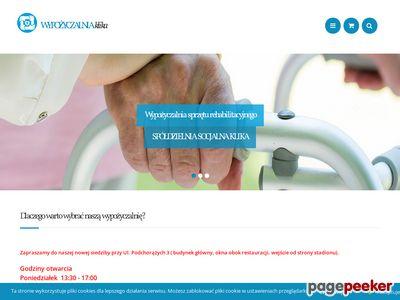 Sprzęt rehabilitacyjny - wypozyczalnia-klika.pl
