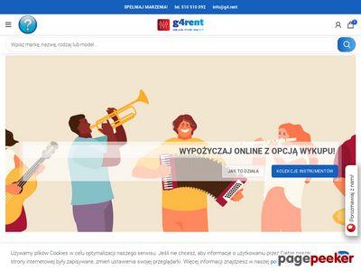 Udanaimpreza.pl- wypożyczalnia instrumentów