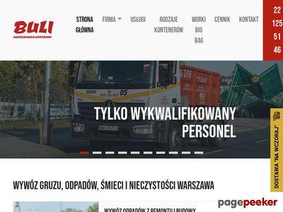 Wynajem kontenerów na odpady wywoz-smieci.pl