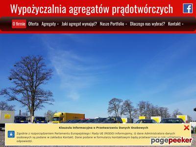 Wypożyczalnia agregatów prądotwórczych Opole
