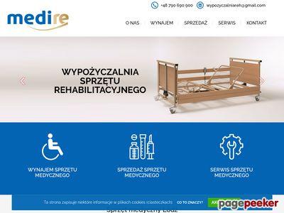 Sprzęt rehabilitacyjny - wynajemsprzetumedycznego.pl