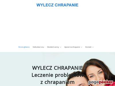Wylecz-chrapanie.pl - co na chrapanie