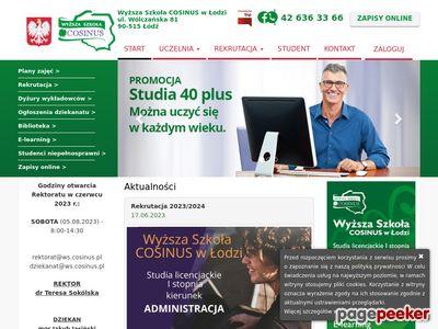 Szkoły wyższe w Łodzi