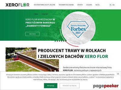 XERO FLOR systemy zielonych dachów