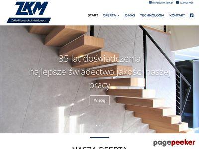 ZKM - Tanie balustrady stalowe i metalowe