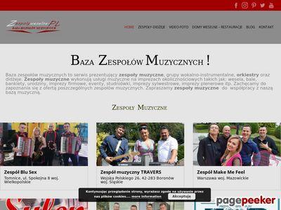 Zespoły Weselne-Agencja Mirex