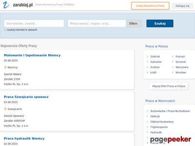 Zarabiaj.pl - Twój portal z ofertami pracy.