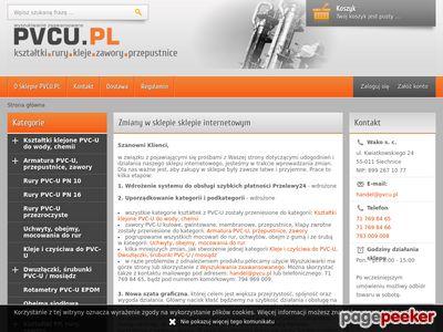 Instalacje ciśnieniowe kleje armatura - PVCU.PL