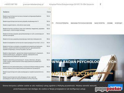 Psychoterapeuta Szczecin