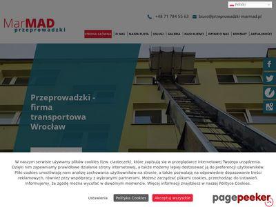 MARMAD przeprowadzki firm wrocław