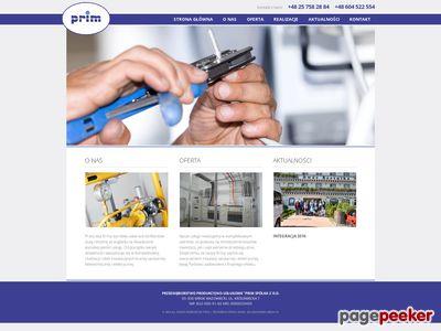 PRIM instalacji sanitarnej mazowieckie