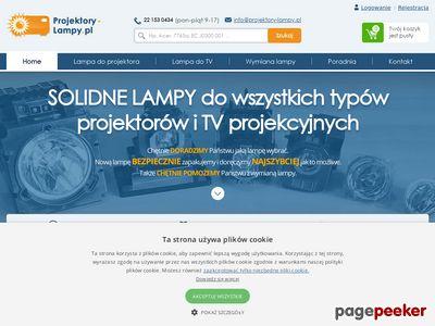 Lampy do projektorów | Projektory-Lampy.pl