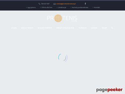 Szkoła Tenisa Protenis Kraków
