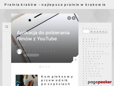 Pralnia Wodna - Pralniakrakowska.pl