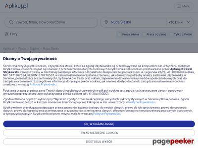 Oferty pracy Ruda Śląska