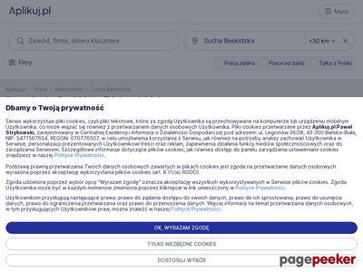 Praca Sucha Beskidzka - portal pracy