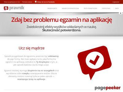 Pravnik - testy na aplikacje