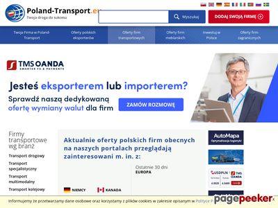 Transport międzynarodowy, transport