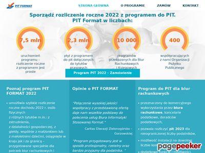 Pit-biuro.pl Rozliczenie pit 2018 w biurze rachunkowym