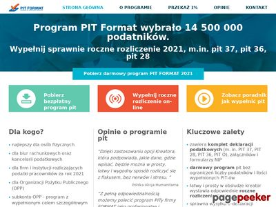 Dobry program do pit 2018 - sposób na pity