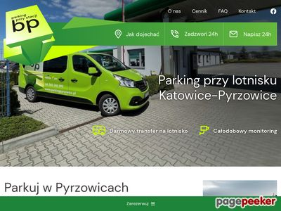 Parking w Pyrzowicach