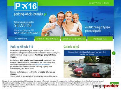 Parking-Obok-Lotniska.pl - parking Lotnisko Warszawa
