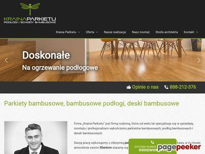 Podłoga bambusowa Warszawa Białystok