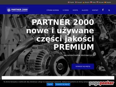 Partner 2000 - Części do samochodów dostawczych