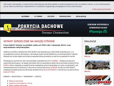 Dachy Kielce.