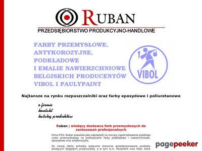 Farby przemysłowe antykorozyjne - www.ruban.com.pl