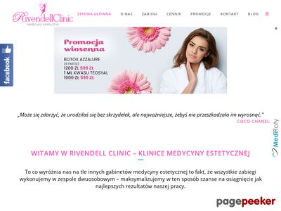 Zabiegi medycyny estetycznej - rivendellclinic.pl