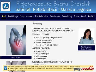 Beata Drozdek, leczenie reumatoidalnego zapalenia stawów.