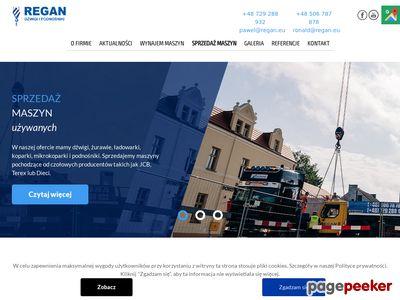 Usługi dźwigowe - REGAN.eu