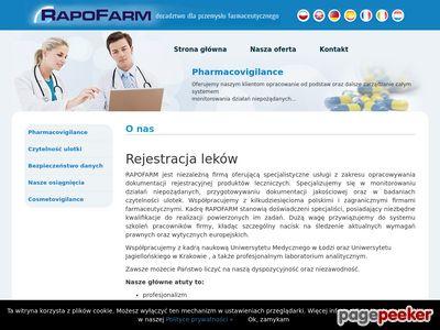 Badanie czytelności ulotek - Pharmacovigilance