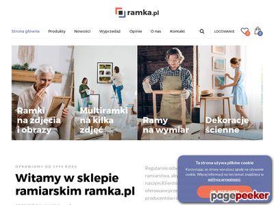 Ramki na zdjęcia - ramka.pl