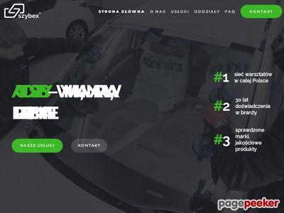 Szybex - Szyby samochodowe Warszawa