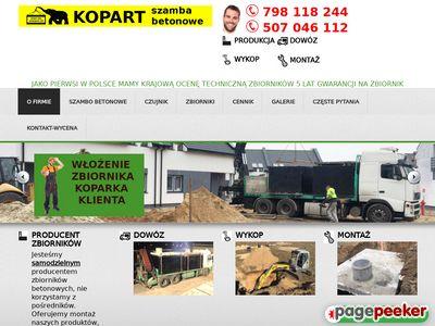 Producent szamb dostawa w całej Polsce