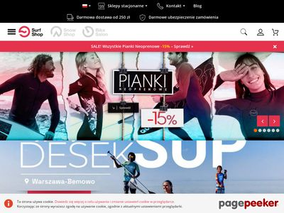 Boardshorty - SurfShop.pl