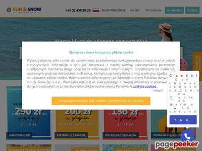 Noclegi - sunandsnow.pl