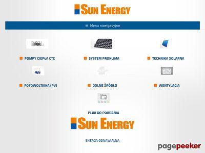SUN ENERGY ogrzewanie ekologiczne