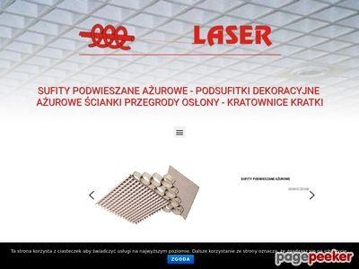 Sufity podwieszane poleca firma Laser.