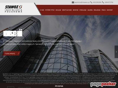 Zabezpieczenia przeciwpożarowe Stawoz