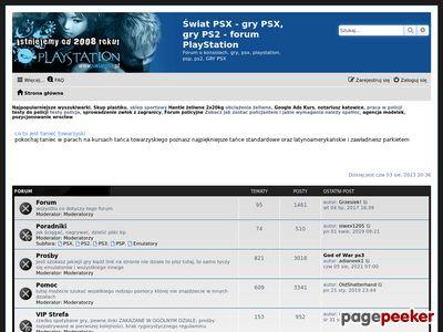 Świat PSX - GRY Forum PlayStation
