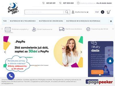 Niestandardowy wymiar materaca - sweetsen.pl